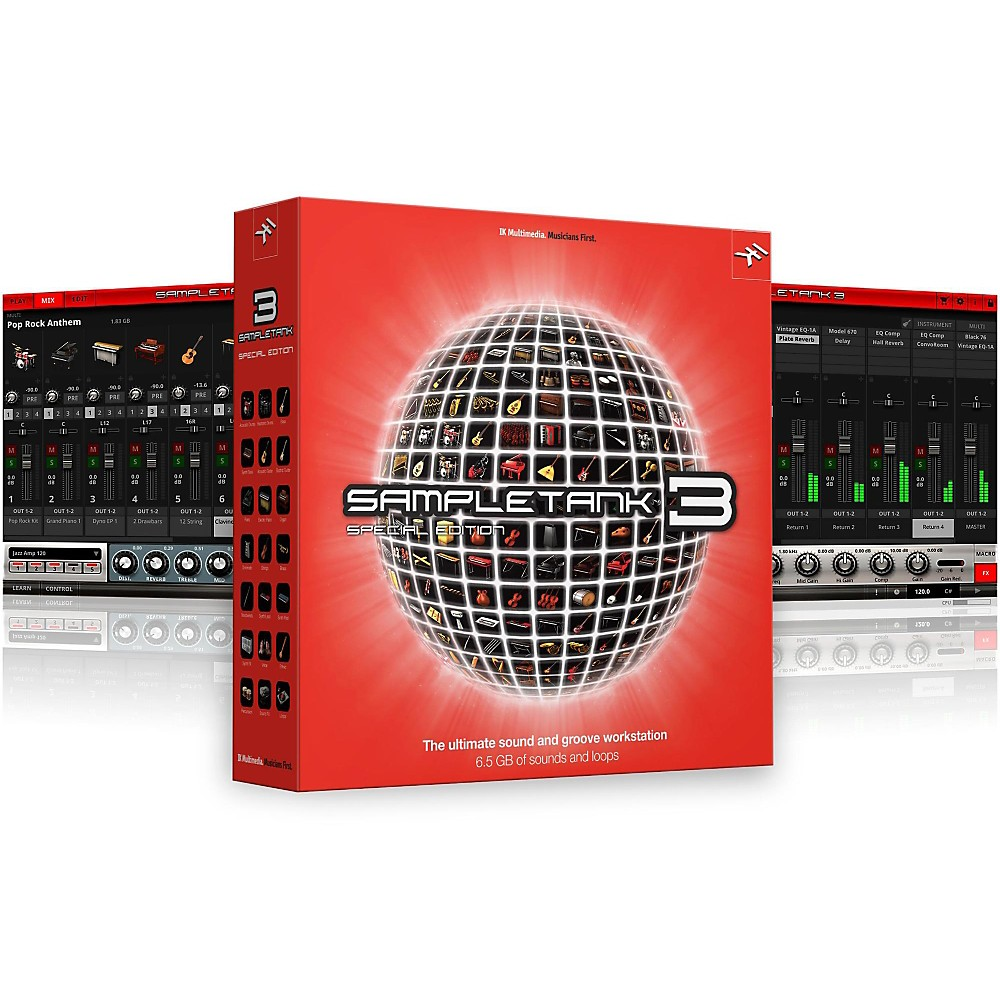 IK Multimedia SampleTank 3 Special Edition 1418660058419