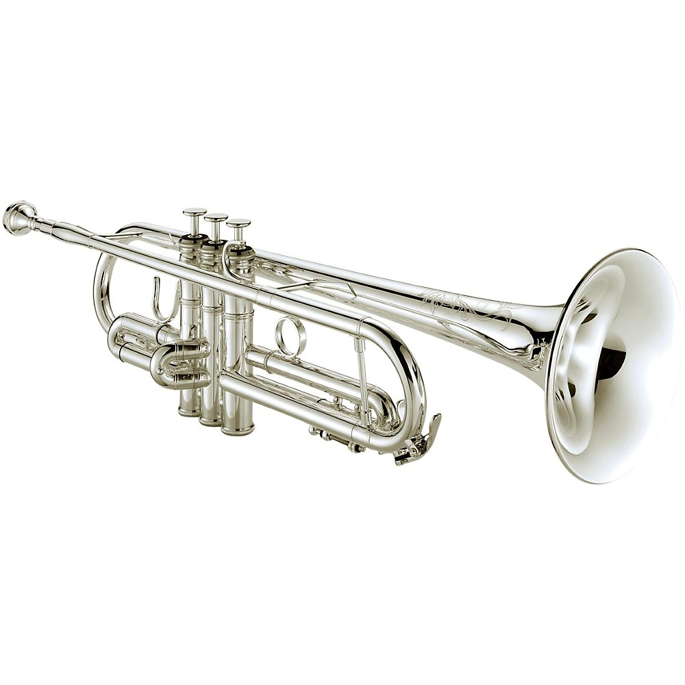 Xo 1604 Professional Series Bb Trumpet With Reverse Leadpipe 1604Rs-R Rose Brass Bell Silver Finish 1424186590801