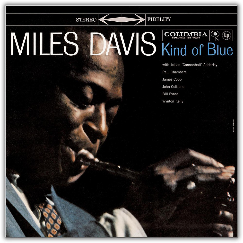 Sony Miles Davis Kind Of Blue Vinyl Lp 1377190992796
