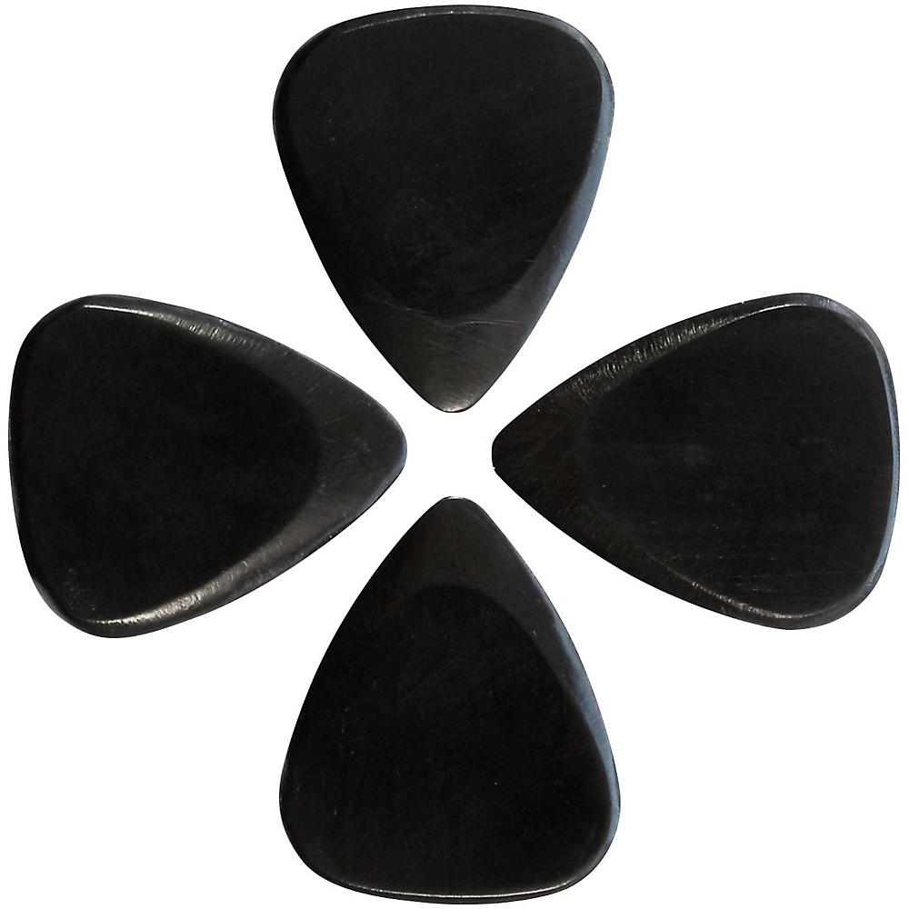 Timber Tones African Ebony Guitar Picks, 4-Pack 1426517447439