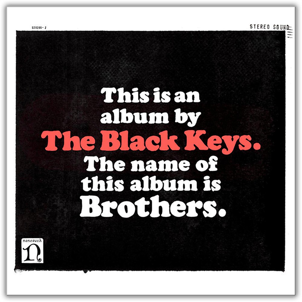 Wea The Black Keys Brothers (With Bonus Cd) Vinyl Lp 1413211461979