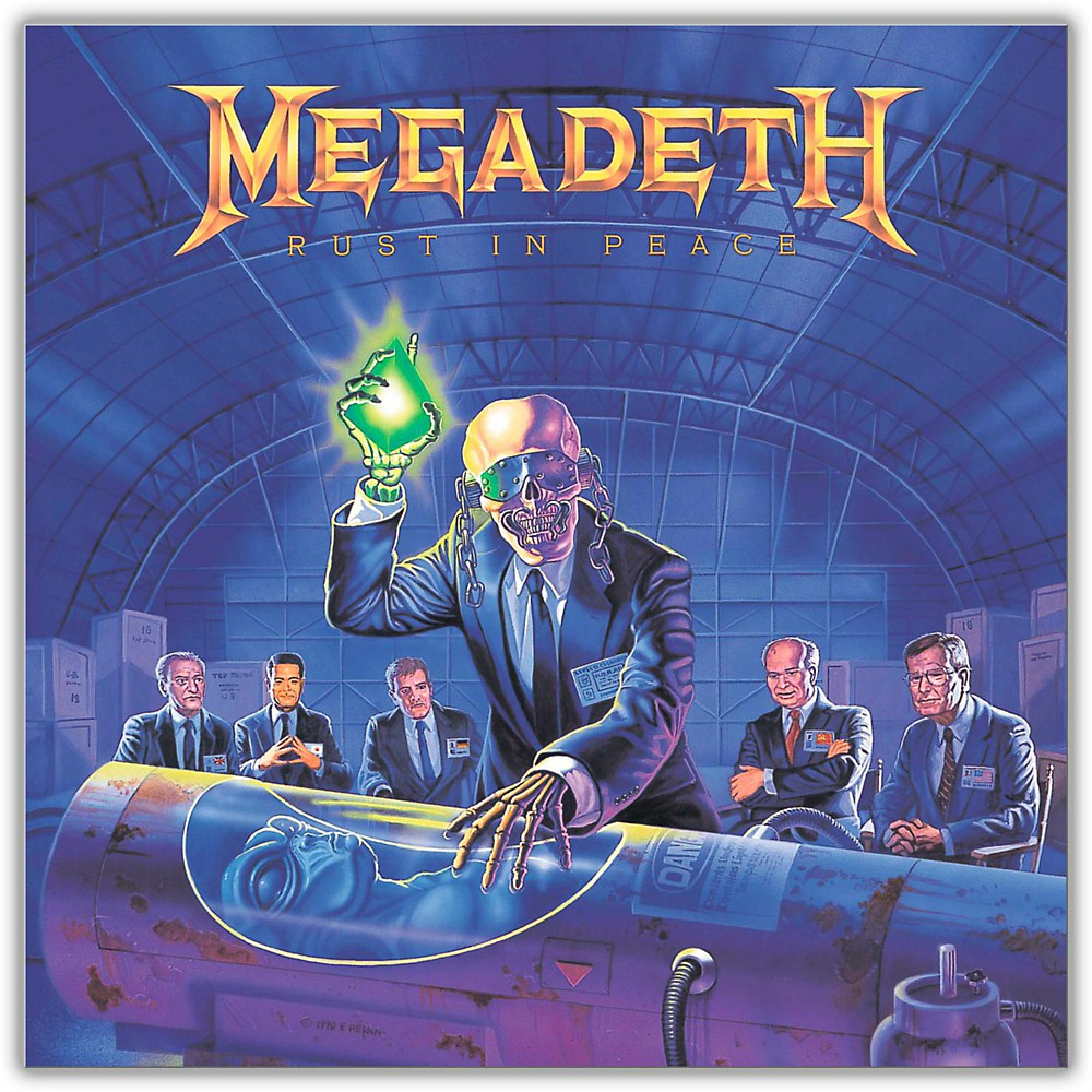 Universal Music Group Megadeth Rust In Peace Vinyl Lp 1421336343398