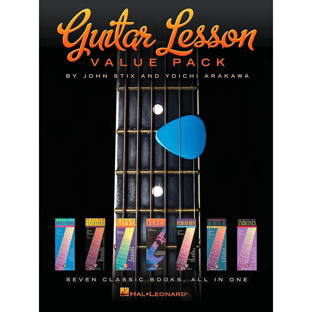 Hal Leonard Guitar Lesson Value Pack - Seven Classics Books All In One! 1427728873253