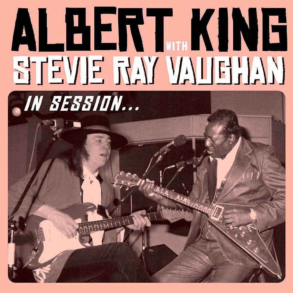 Universal Music Group Albert King with Stevie Ray Vaughan - In Session Vinyl LP 1429541929334