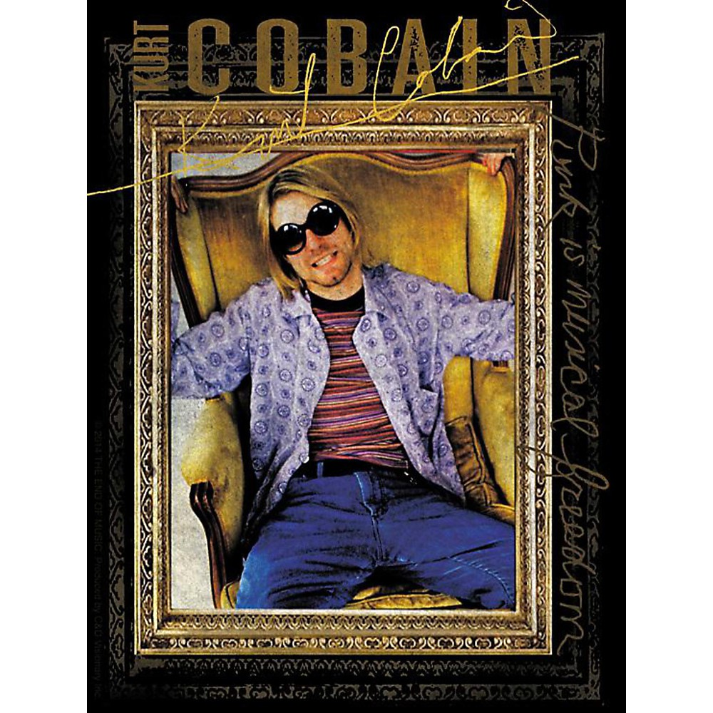 C&D Visionary Kurt Cobain Armchair Sticker 1434378852486