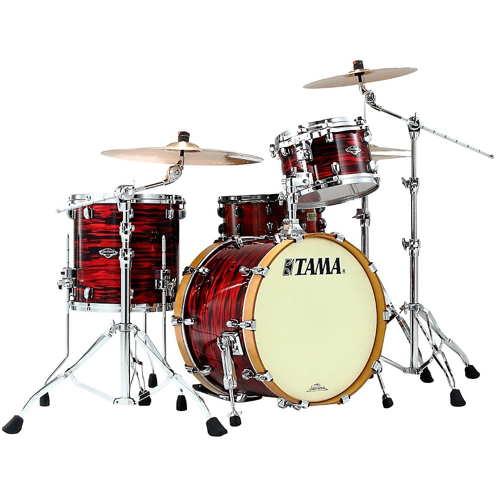 Tama Starclassic Performer B/B Yesteryear Classic Edition 3-Piece Jazz Shell Pack Red Oyster 1435592276404