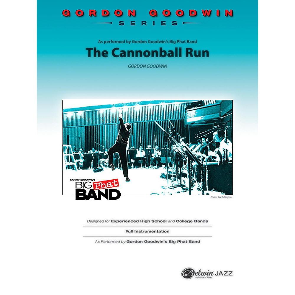 BELWIN The Cannonball Run Jazz Ensemble Grade 5 (Advanced / Difficult) 1436798374307