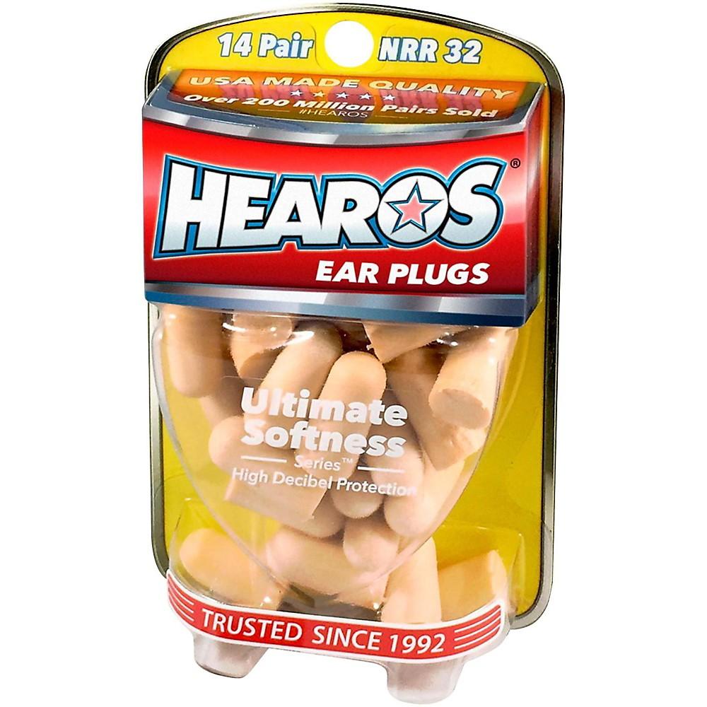 Hearos Ultimate Softness Series Ear Plugs 14 Pair + Free Case 1436798376752