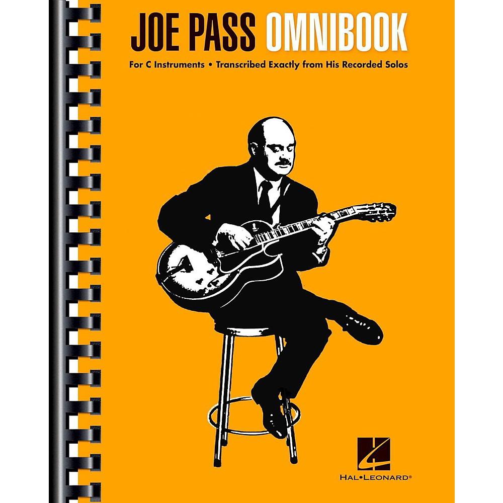 Hal Leonard Joe Pass Omnibook For C Instruments 1444227498012