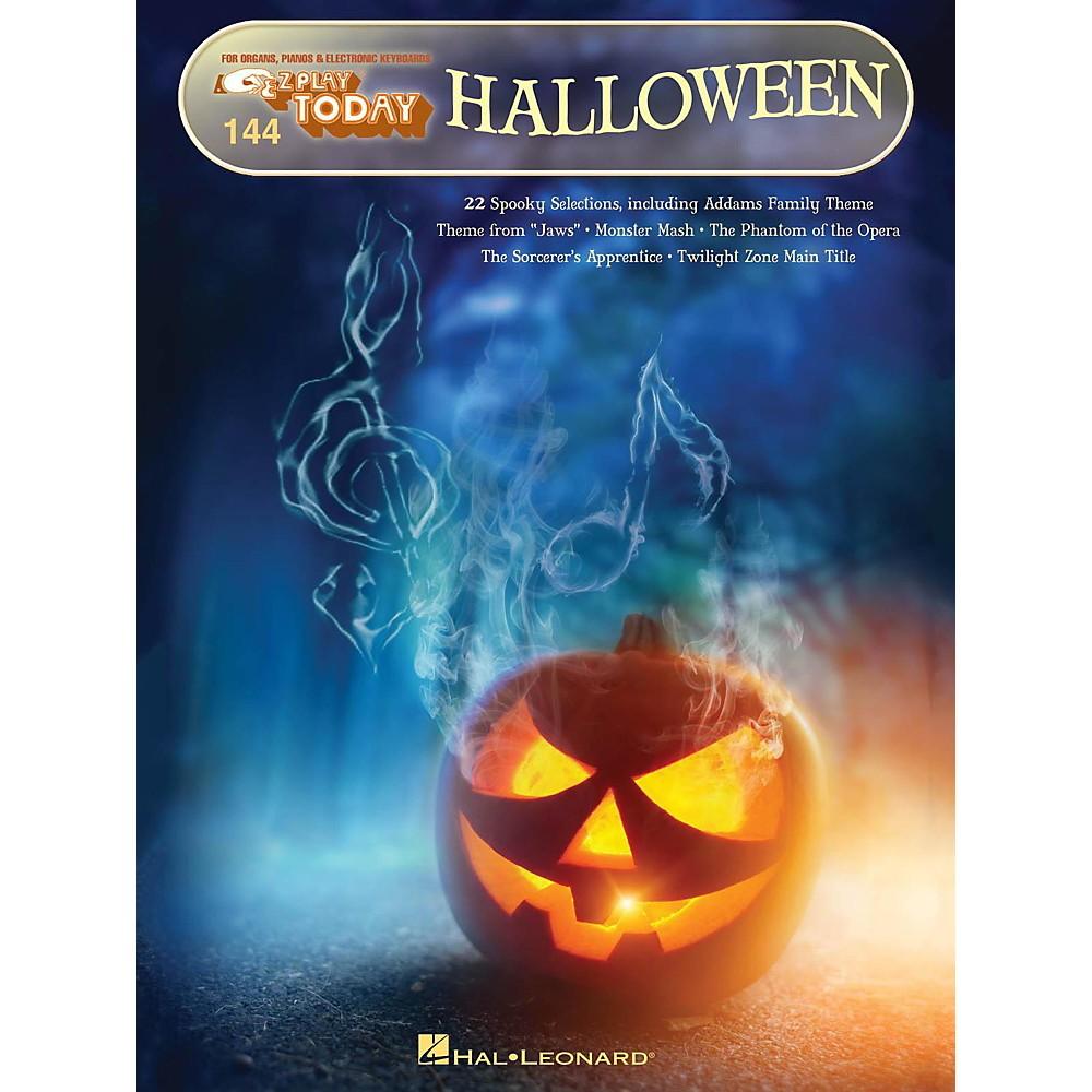 Hal Leonard Halloween E-Z Play Today Volume 144 1444227498026