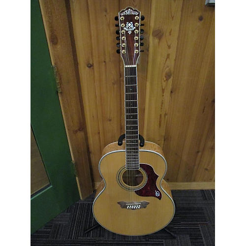 Washburn J28S/12DL 12 String Acoustic Guitar Natural