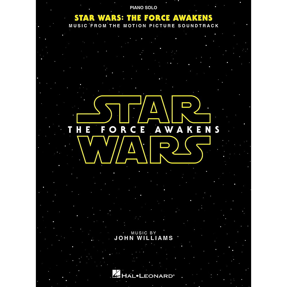 Hal Leonard Star Wars Episode Vii  The Force Awakens Piano Solo Songbook 1500000005336