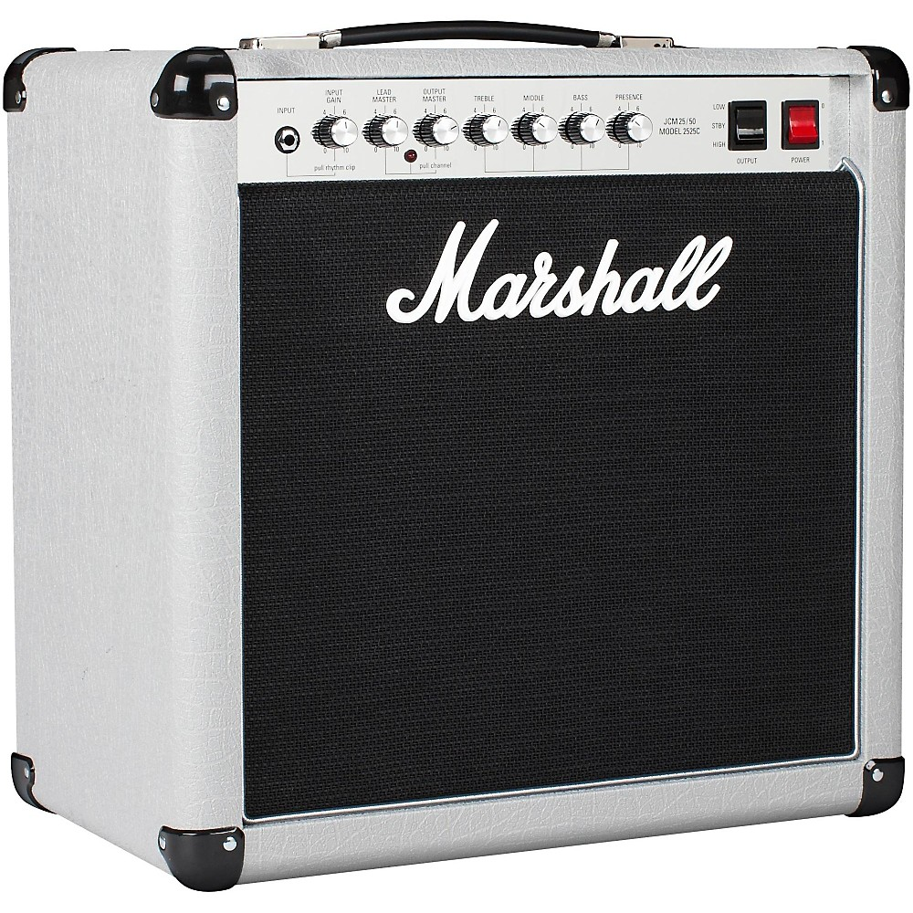 Marshall Mini Silver Jubilee 2525C 1x12 Tube Guitar Combo Amp Silver 1500000005780