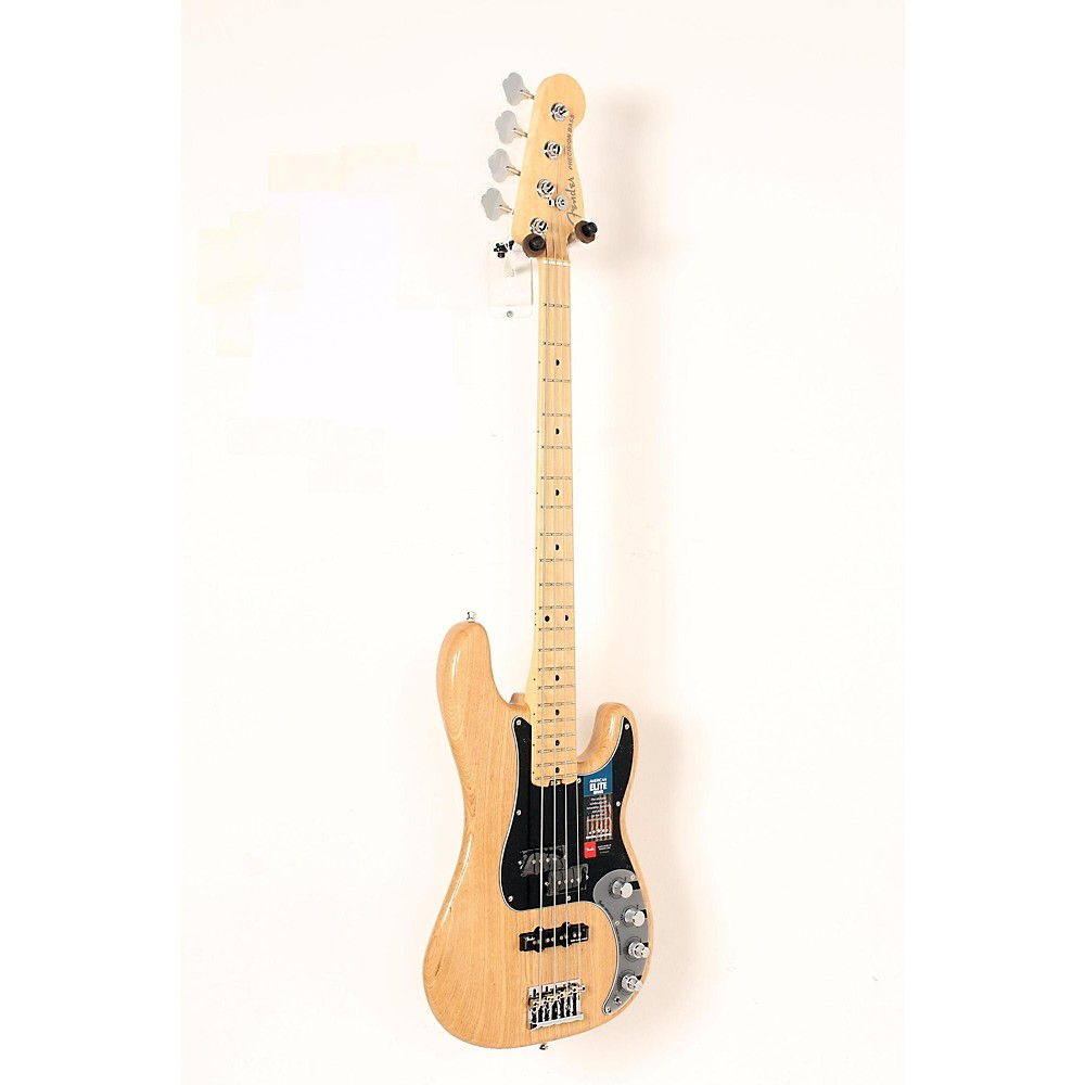 Fender American Elite Maple Fingerboard Precision Bass Natural 190839072689 -  USED005008 0196902721