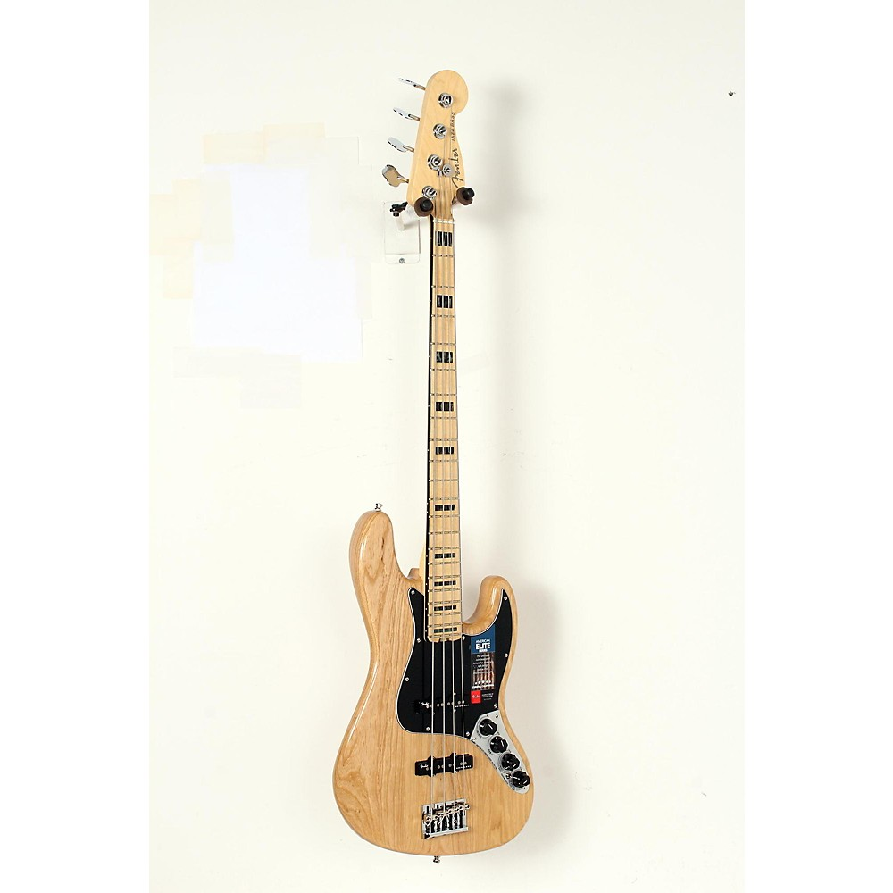 Fender American Elite Jazz Bass Natural 190839081391 -  USED005008 0197002721