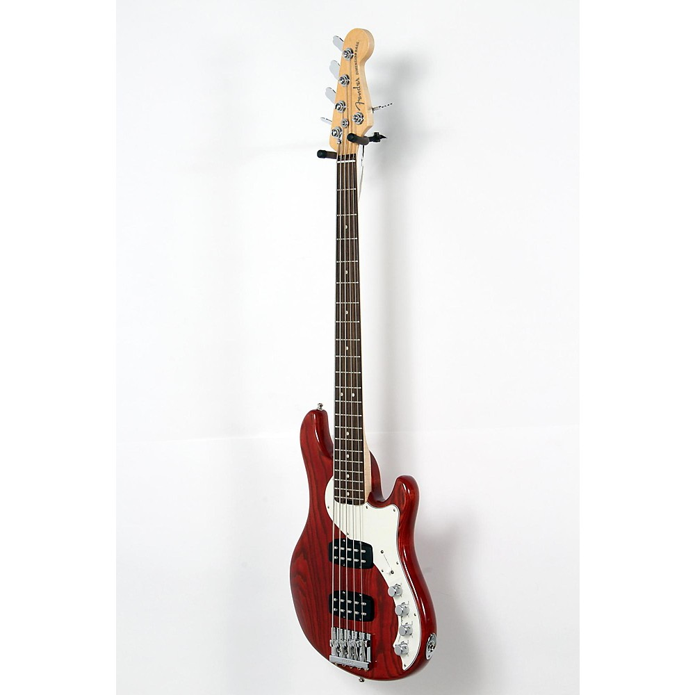 Fender American Elite Dimension Bass V Hh, Rosewood, Electric Bass Guitar Cayenne Burst 190839029492 -  USED005001 0193000728