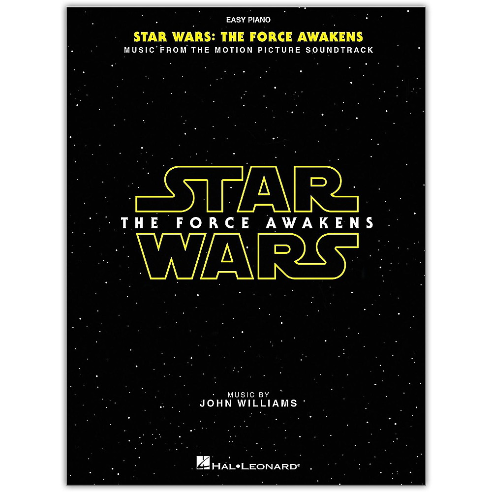 Hal Leonard Star Wars: Episode Vii The Force Awakens For Easy Piano 1500000006547