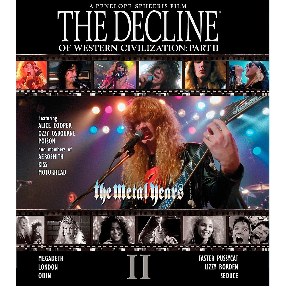 Universal Music Group The Decline Of Western Civilization Part II: The Metal Years (DVD) 1500000008938