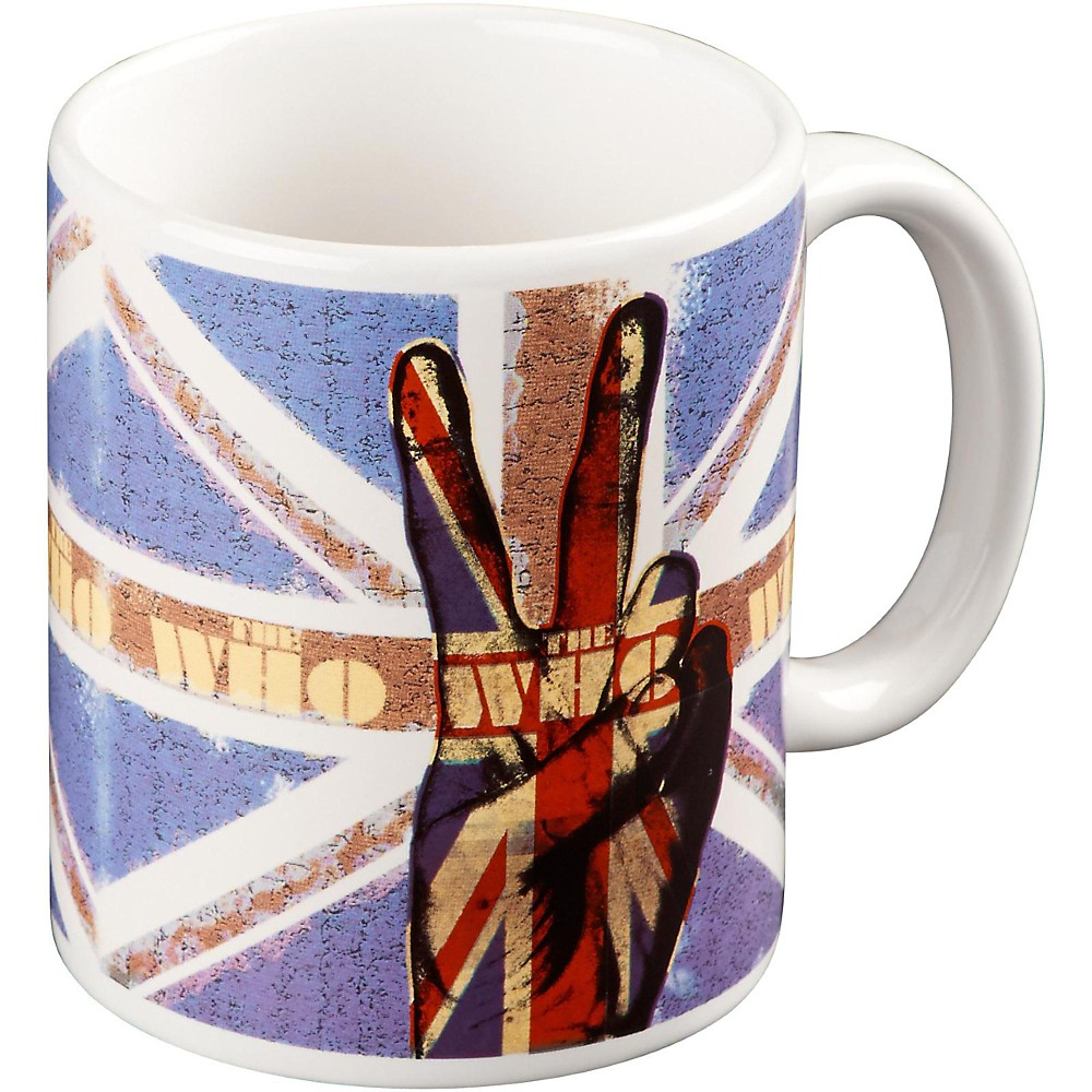 Rock Off Who Peace Fingers Mug 1500000008902