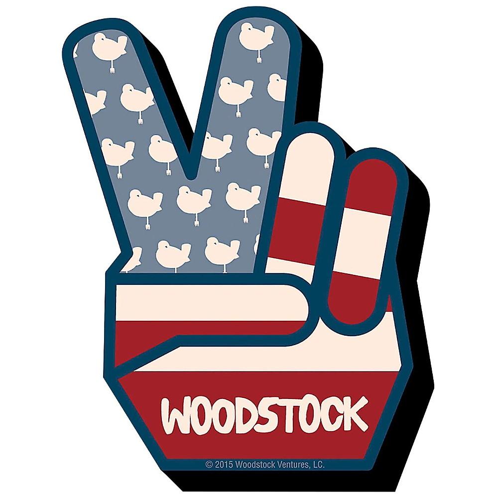 Hal Leonard Woodstock Peace Chunky Magnet 1500000011468