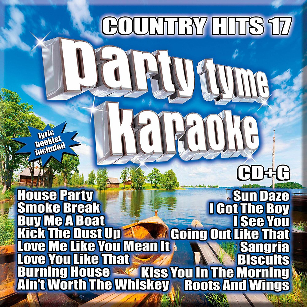SYBERSOUND Party Tyme Karaoke - Country Hits 17 1500000014077