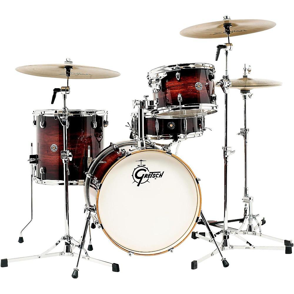 Gretsch Drums Catalina Club 4-Piece Shell Pack Gloss Antique Burst 1500000014918