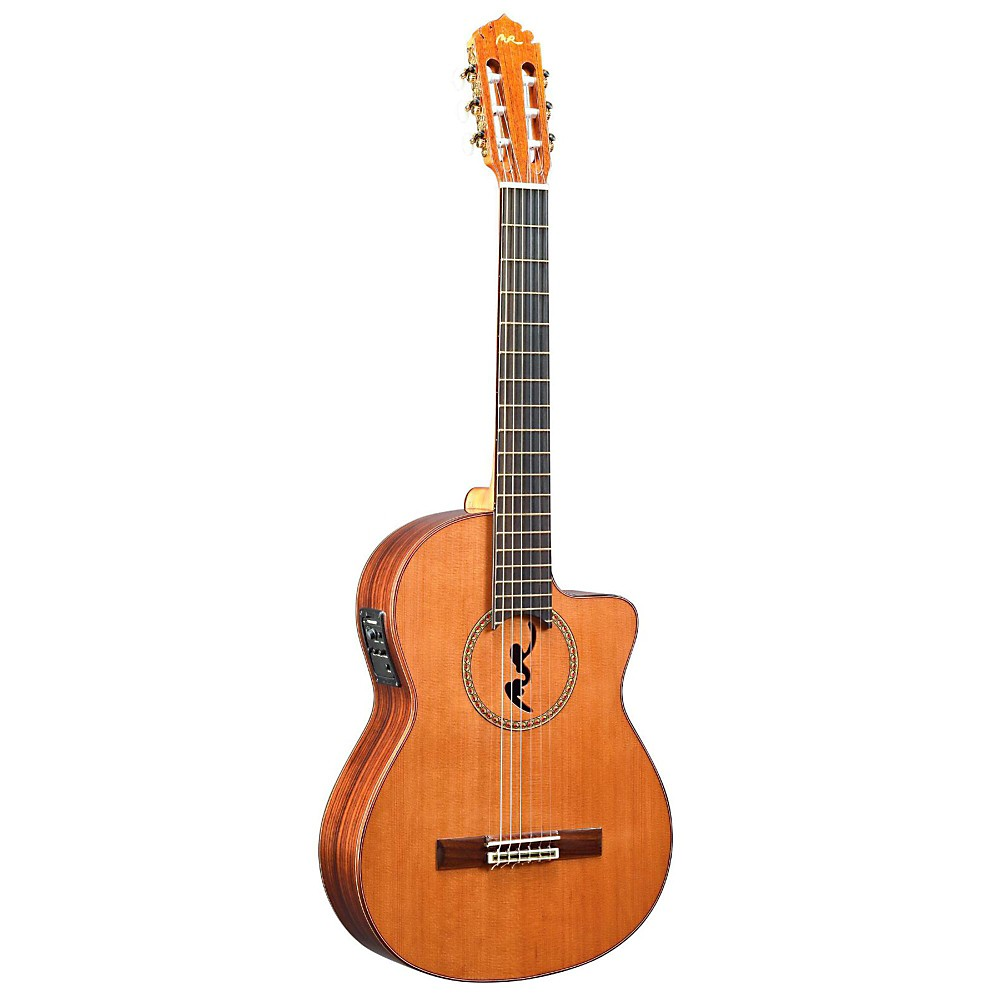 Manuel Rodriguez BCUT-U Boca Nylon-String Classical Acoustic-Electric Guitar Natural 1500000012064