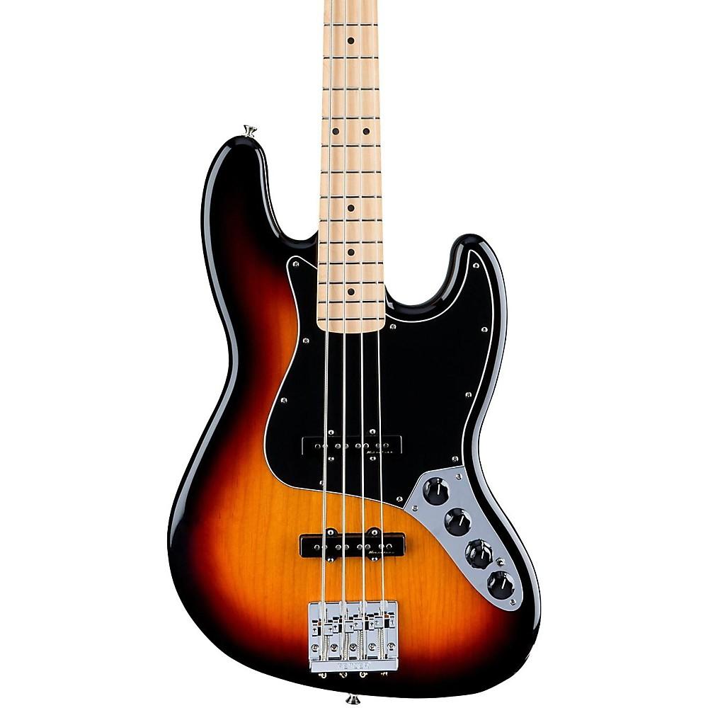 Fender Deluxe Active Jazz Bass, Maple Fingerboard 3-Color Sunburst