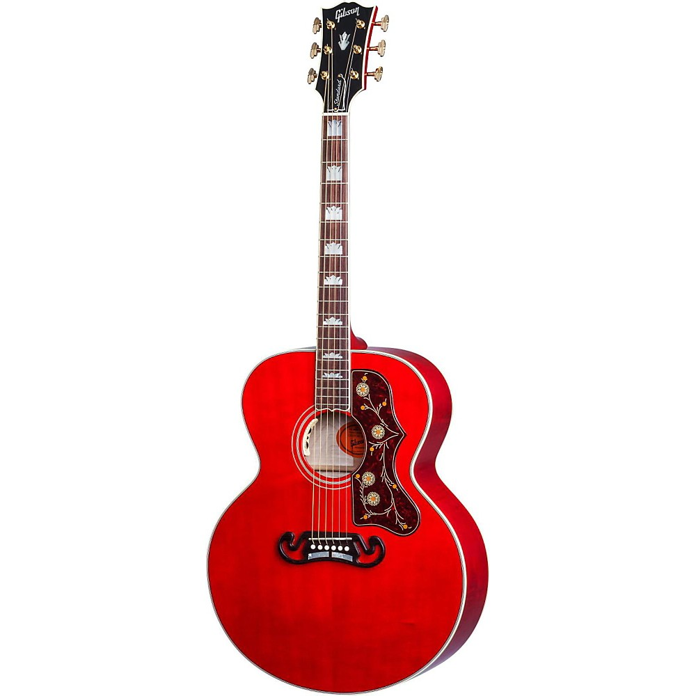 Gibson Sj-200 Acoustic-Electric Guitar Transparent Cherry 1500000022456