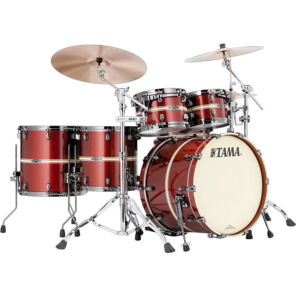 Tama Starclassic Performer B/B Limited Edition 5-Piece Shell Pack Fire Brick Red 1500000022349