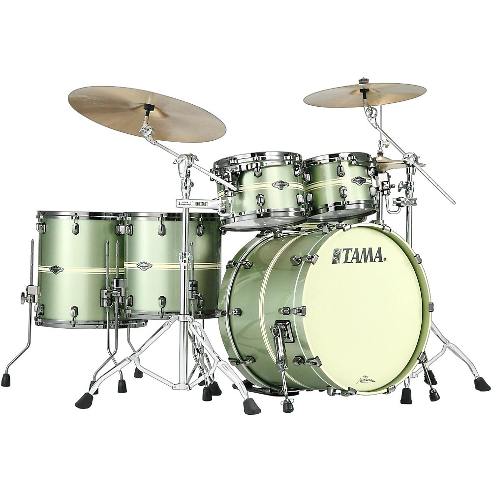 Tama Starclassic Performer B/B Limited Edition 5-Piece Shell Pack Tempest Green 1500000022351