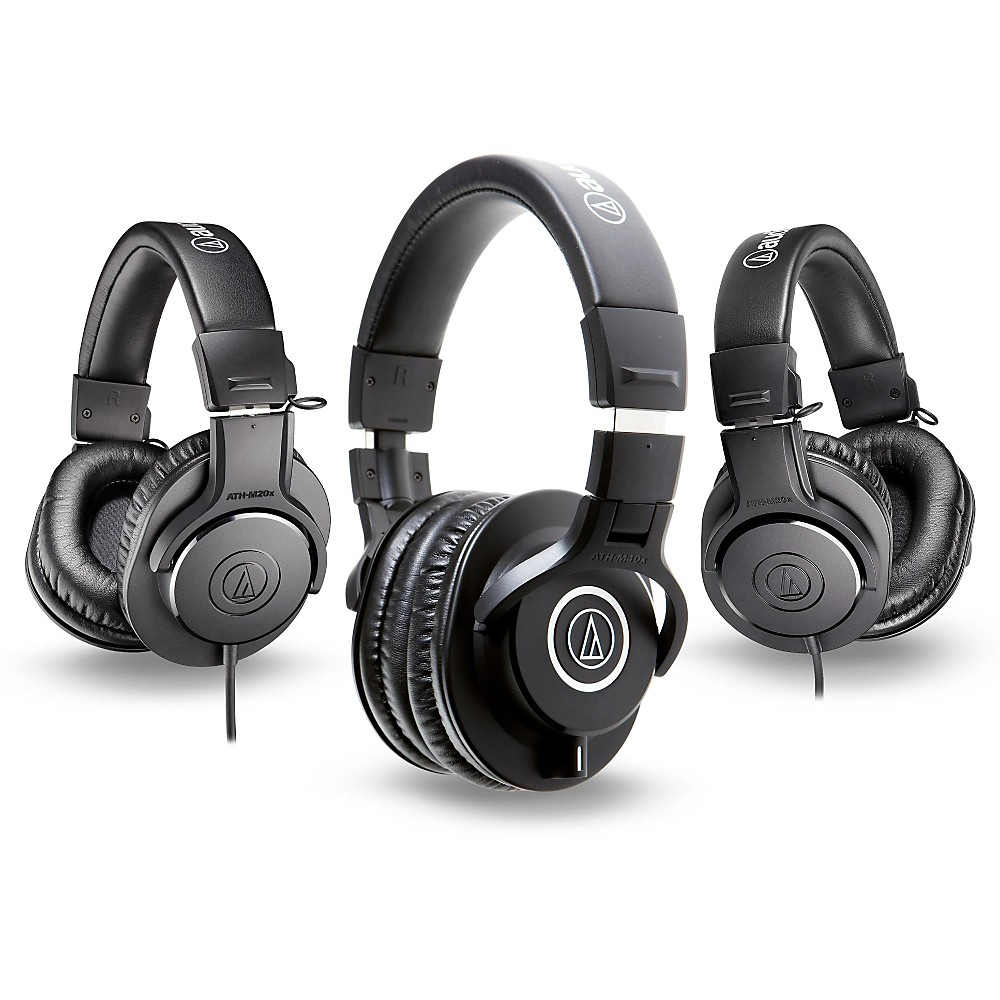 Headphones Audio Technica Ath M40x Monitoring Headphone 16900 More Details With 2 M20x