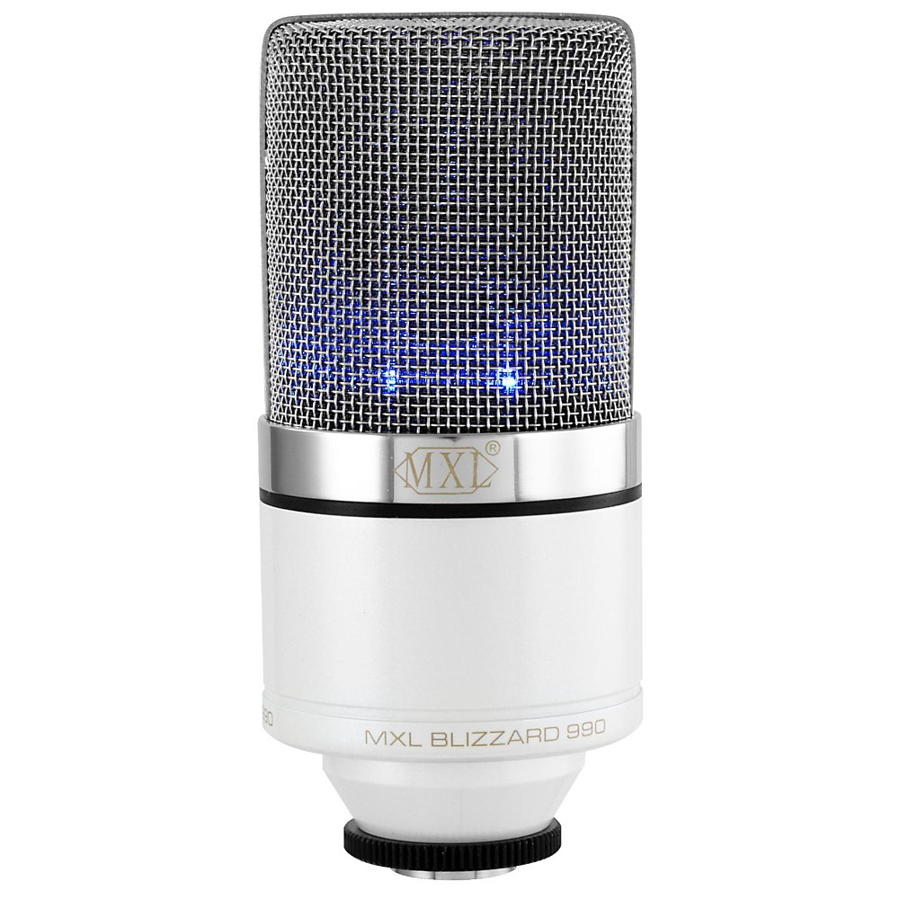 MXL 990 Blizzard Limited Edition Condenser Microphone 1500000025847