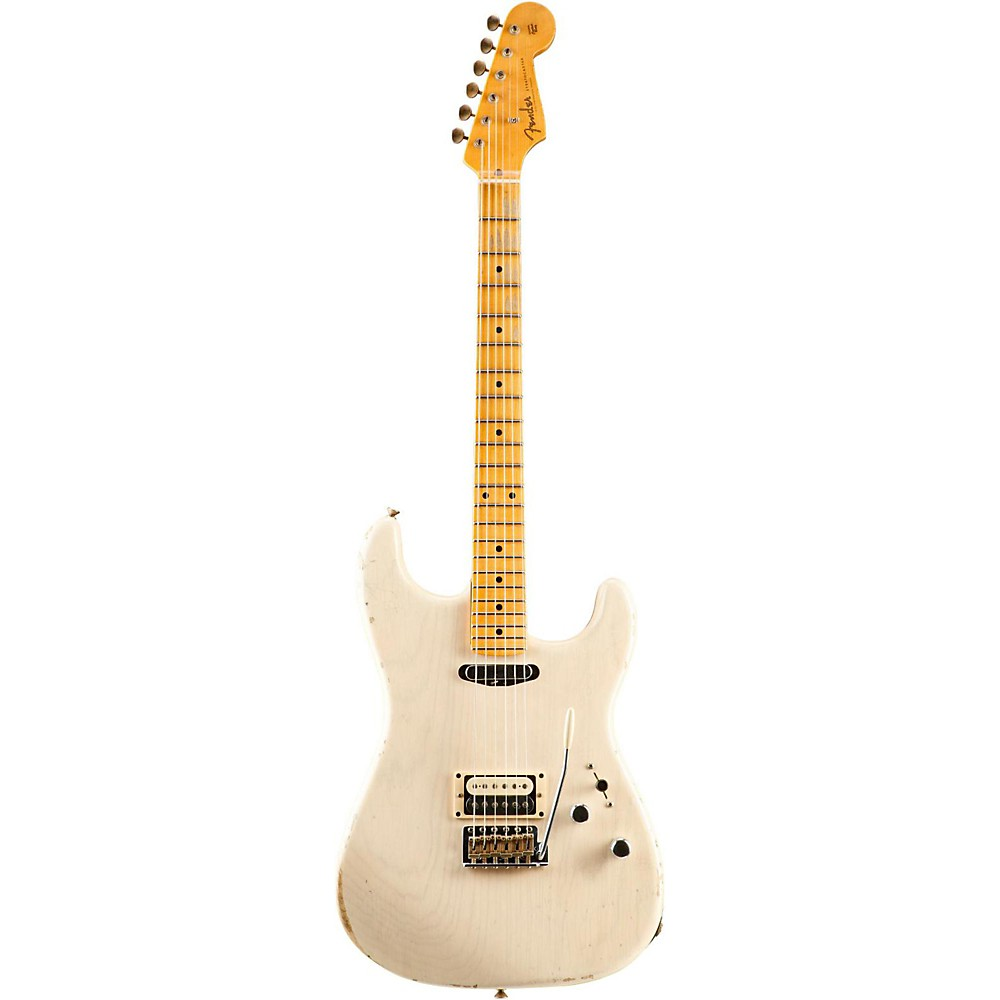 Fender Custom Shop Limited Edition Hs Relic Stratocaster Aged White Blonde 1500000022162