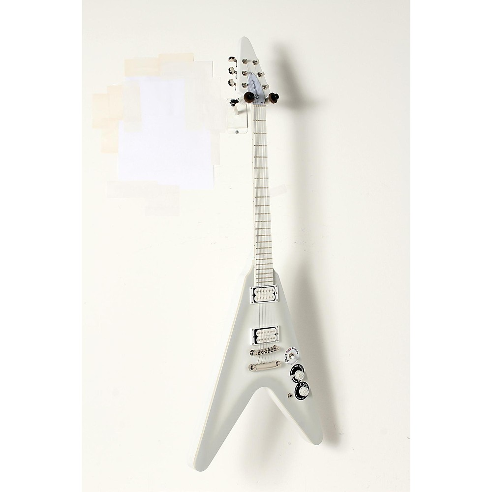"Epiphone Limited Edition Brendon Small """"Snow Falcon"""" Outfit Electric Guitar Snow Burst 888365976983"" J44808005001002"