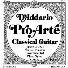 D'Addario J45 B-2 Pro-Arte Clear Normal Single Classical Guitar String