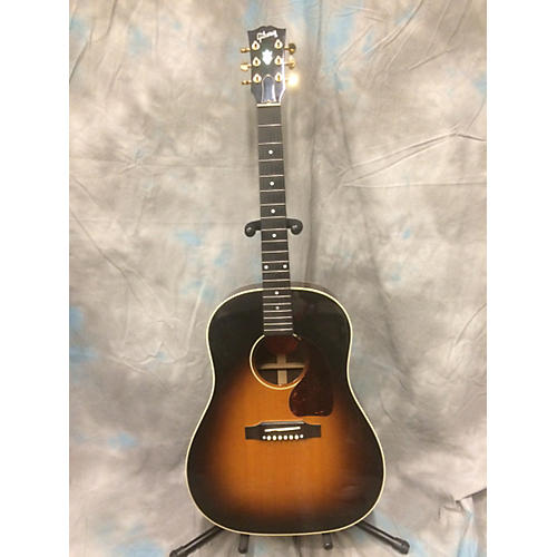 Gibson J45 Standard 3 Color Sunburst Acoustic Electric Guitar