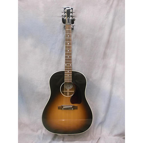 Gibson J45 Standard Vintage Sunburst Acoustic Electric Guitar-thumbnail