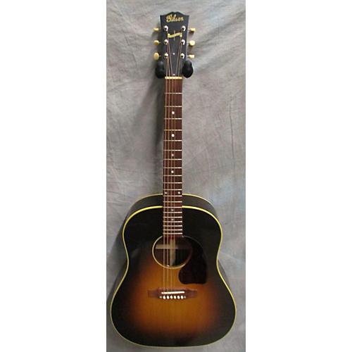 Gibson J45-TV True Vintage Acoustic Guitar Vintage Sunburst