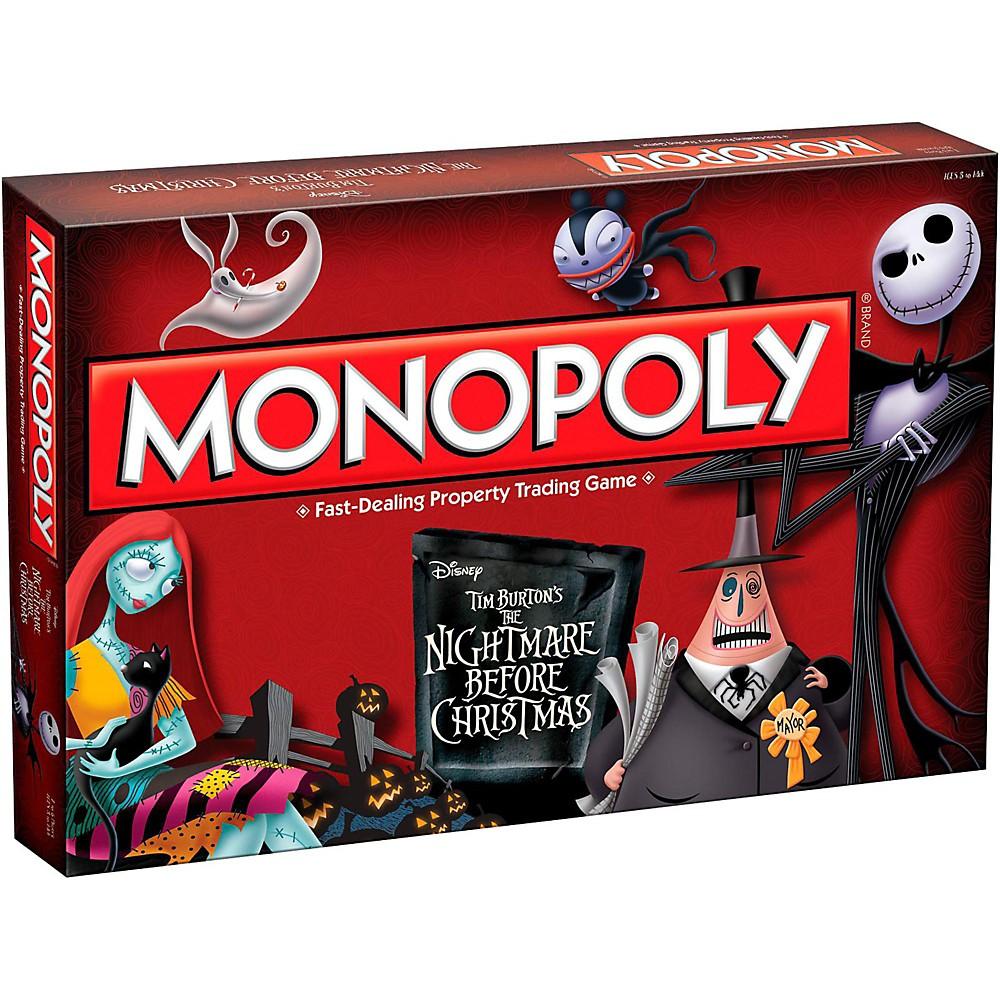 USAOPOLY MONOPOLY: Tim Burton's The Nightmare Before Christmas 1500000028349