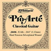 D'Addario J46 E-6 Pro-Arte SP Hard Single Classical Guitar String