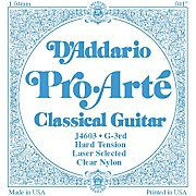 D'Addario J46 G-3 Pro-Arte Clear Hard Single Classical Guitar String