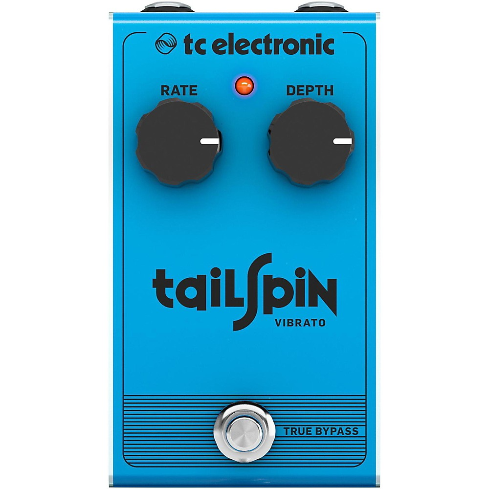 TC Electronic Tail Spin Vibrato Effect Pedal 1500000028072