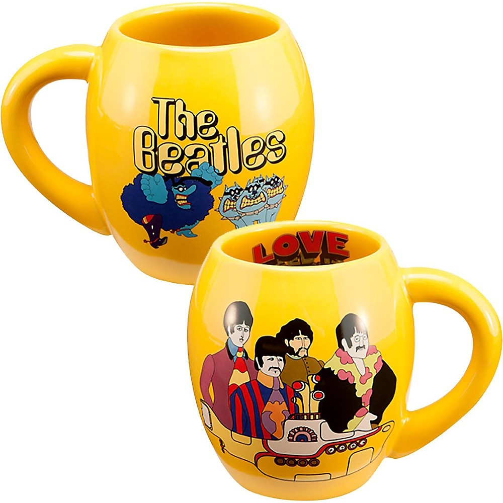 "Vandor The Beatles """"Yellow Submarine"""" 18 oz. Oval Ceramic mug"" 1500000031008"