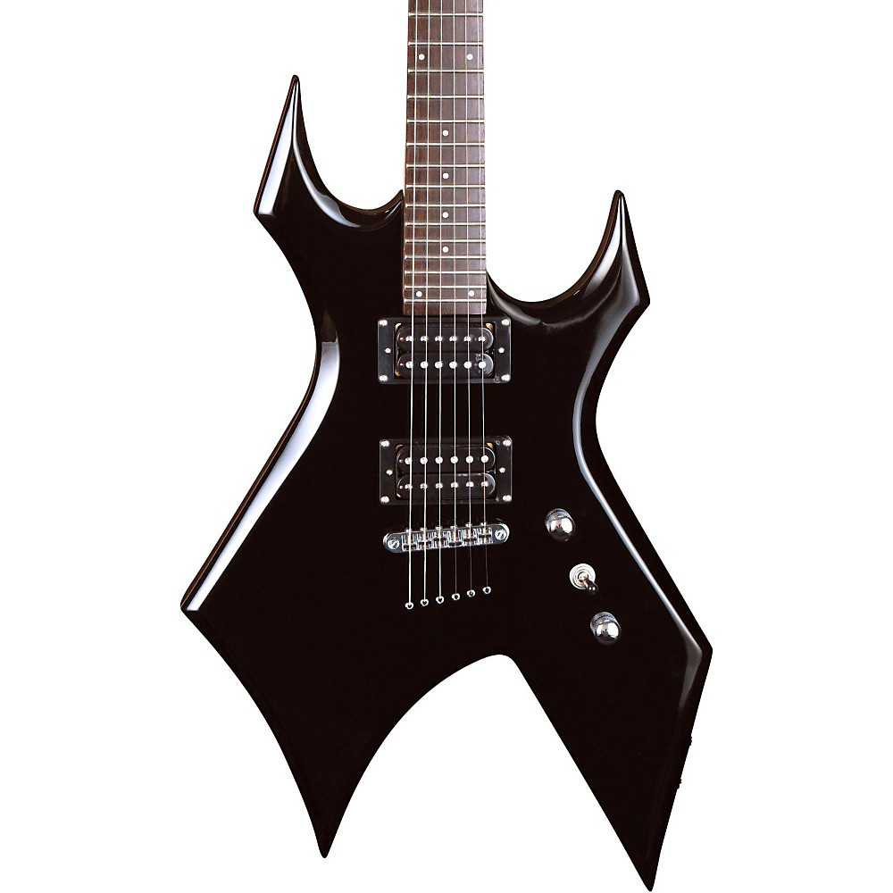 B.C. Rich Warlock Electric Guitar Black