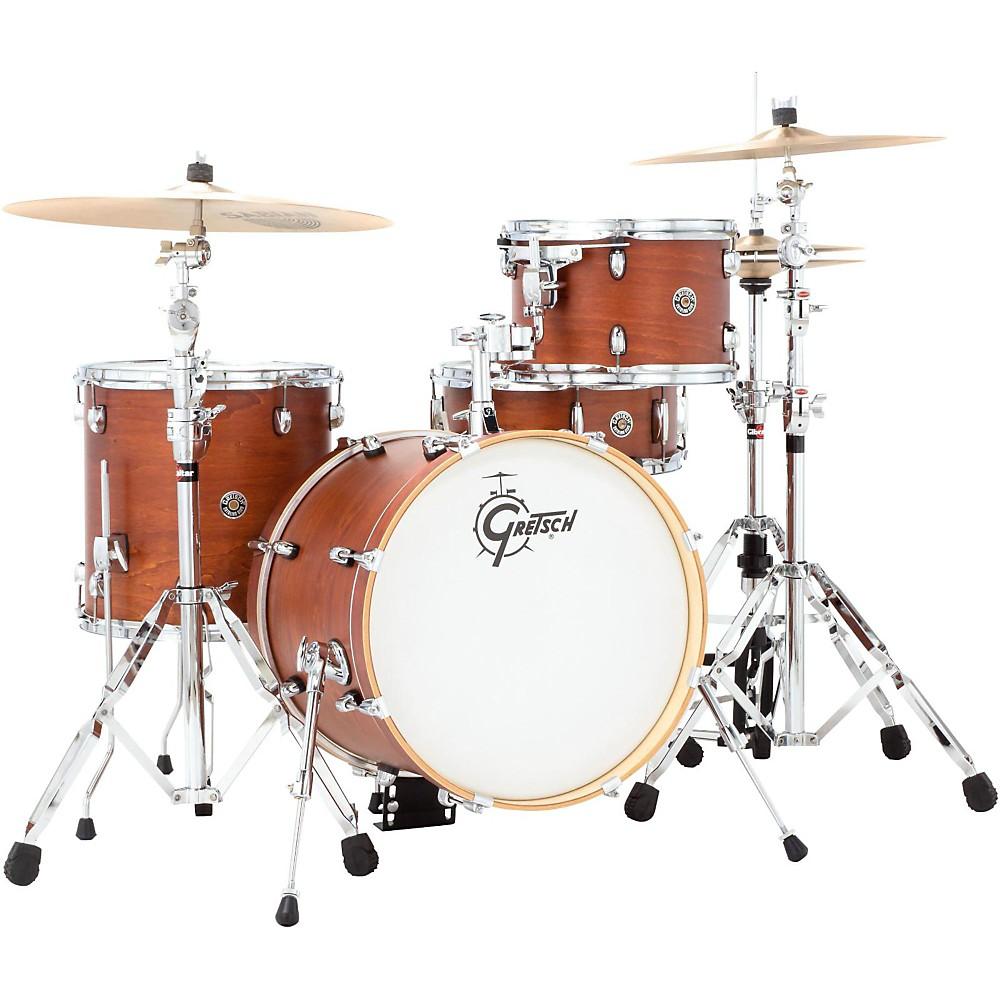 Gretsch Drums Catalina Club Jazz 4-Piece Shell Pack Satin Walnut Glaze 1500000031677