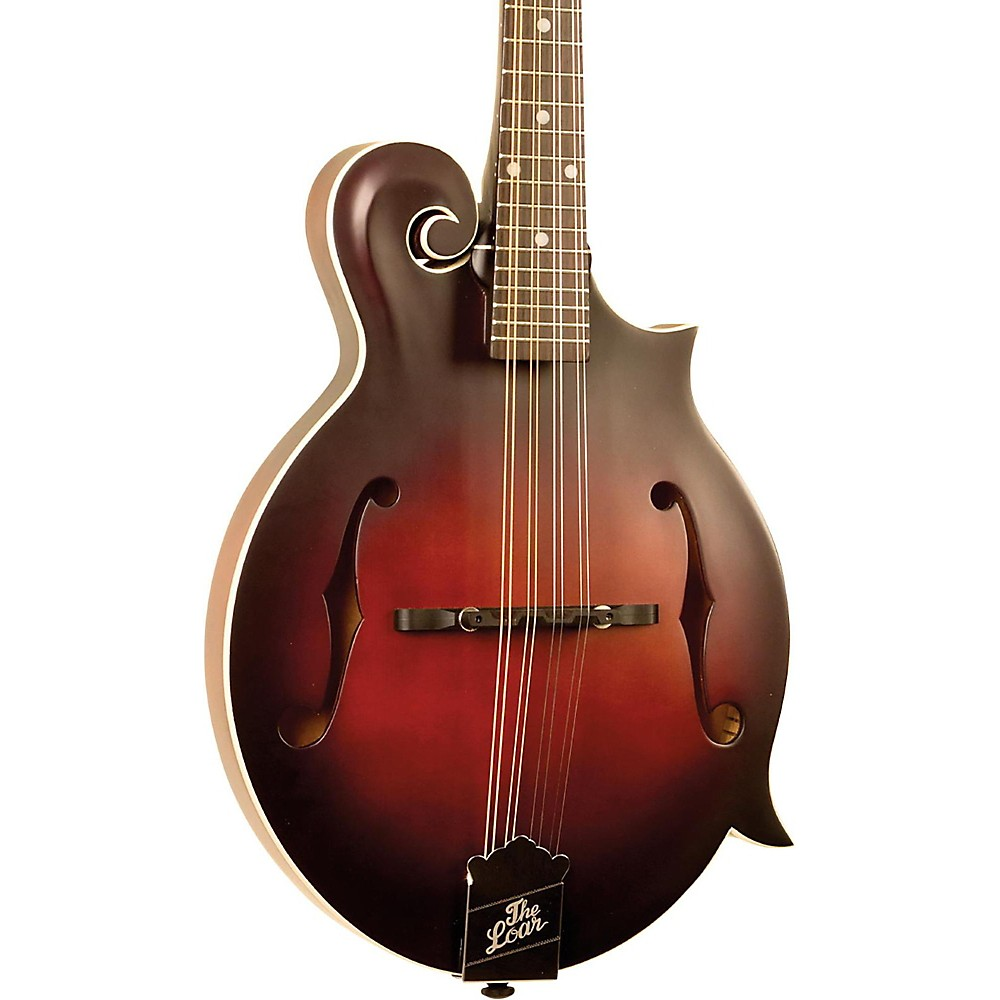 The Loar LM-310F Hand Carved F Style Mandolin Vintage Brown 1500000032205