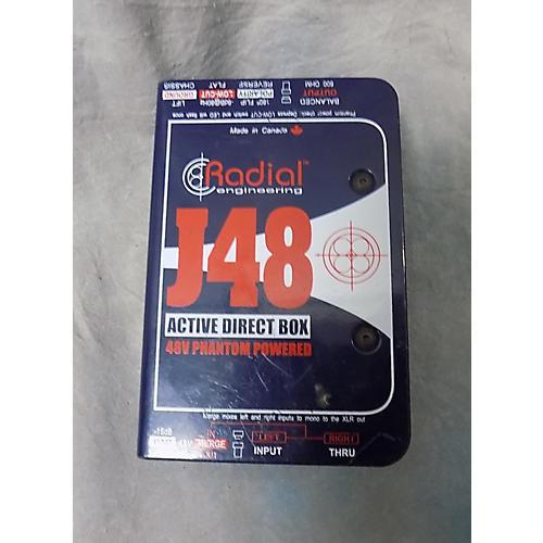 Radial Engineering J48 Active Direct Box Direct Box