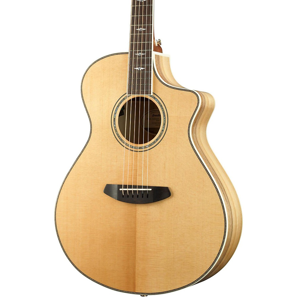 Breedlove Stage Exotic Concert CE Sitka Spruce - Myrtlewood Acoustic-Electric Guitar 1500000034203