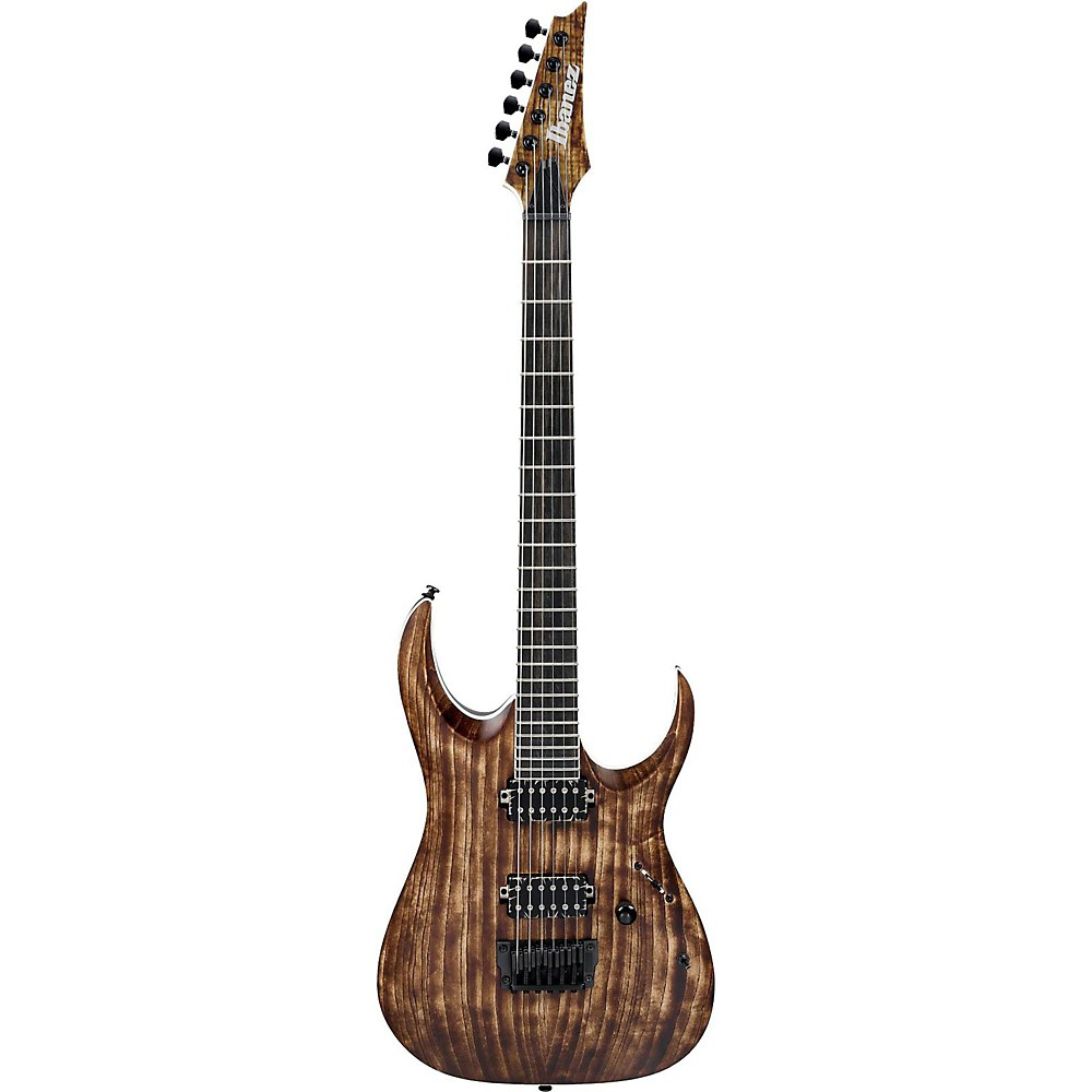 Ibanez Rga Iron Label Rgaix6u 6-String Electric Guitar Antique Brown Stained 1500000032840